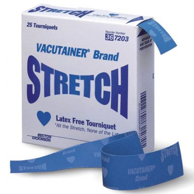 BD Vacutainer® Stretch Latex Free Tourniquet
